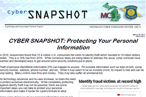 Protecting your Personal Information
