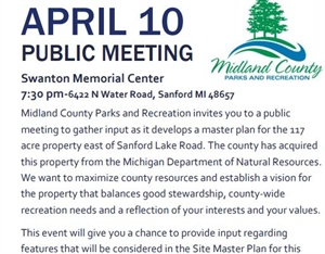 County Parks Public Hearing