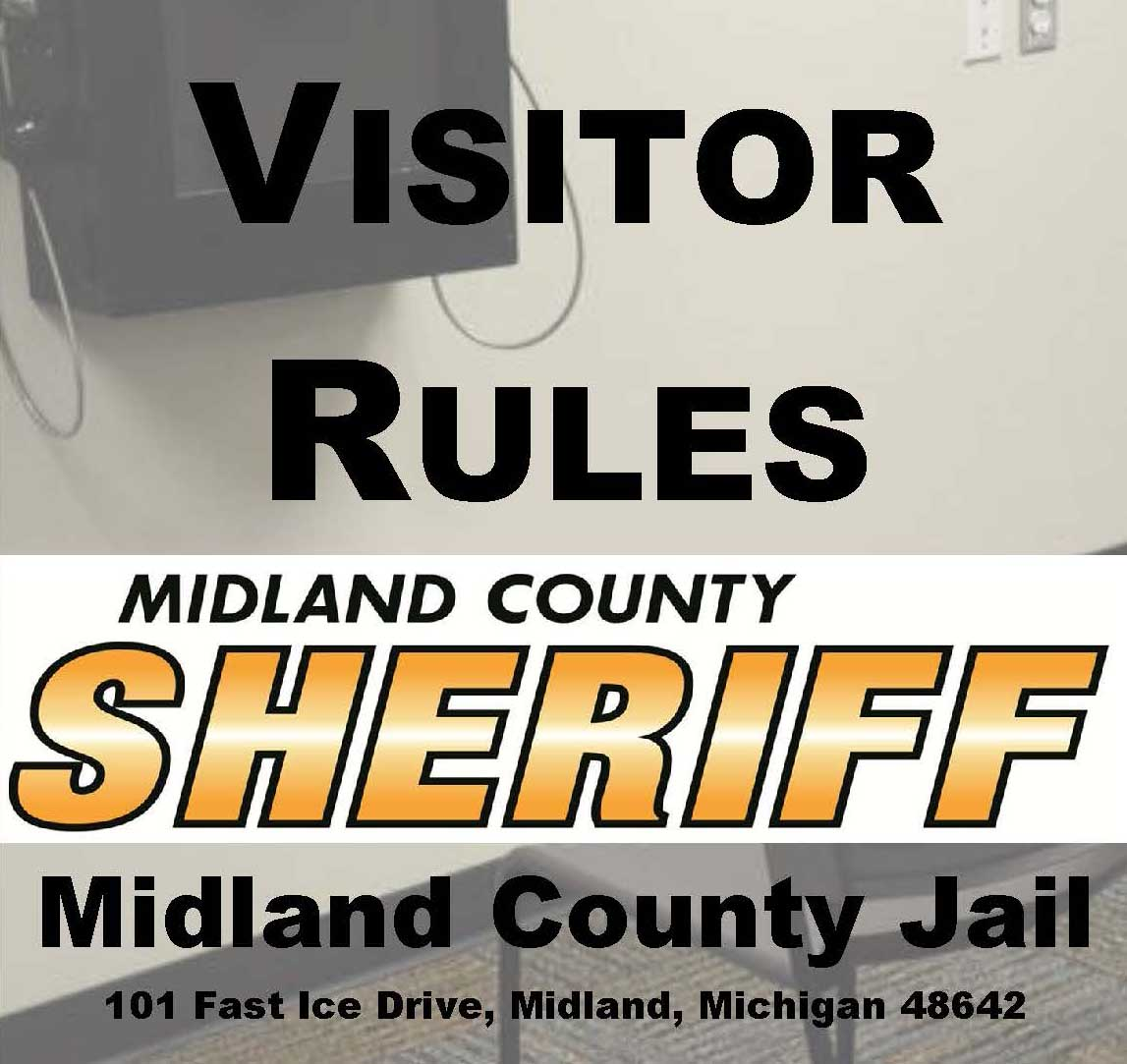 County of Midland, Michigan > Sheriff > Jail > Visitation